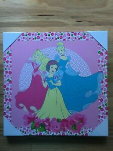 Gorgeous Disney Princesses Canvas Wall Art Hanging Decor - 30x30 cm - Brand New