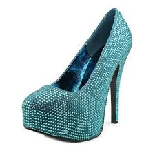 Stiletto Canvas Party Heels for Women