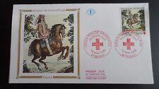 FDC Enveloppe Premier Jour - CEF - Croix rouge - 13/05/1995 - Saumur