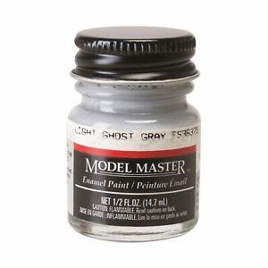 Testors 1728 FS36375 Light Ghost Gray Enamel Paint 1/2 oz. Flat Model Master