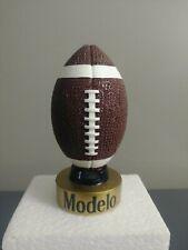 MODELO FOOTBALL  TOPPER TAP HANDLE  NFL KEGERATOR BEER PUB BAR