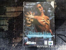 Shadow Man (Nintendo 64) Instruction Manual Booklet Only... NO GAME