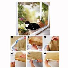 Cat Window Mounted Bed Sunny Seat Balcony Pet Hammock Bed Washable Cover 22*12in