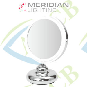 """CLEARVIEW 5"""" Magnifying Mirror On/Off LED Light Make Up Cosmetic Vanity MLMIR104"""