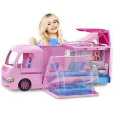Barbie Van Pop Up Camper Duplex Vehicle Transforming Features Kids Toy Doll