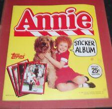 Vintage 1980s Topps Annie Sticker Album Little Orphan Annie 2