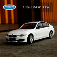 1:24 Welly BMW F30 335i White Diecast Model Car Vehicle New in Box