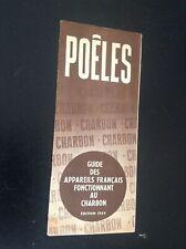 Catalogue Poeles Charbon 1954