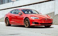 20x9/20x10.5 AodHan Flow Forged AFF1 5x120 +30/35 Bronze Rims Fits Tesla Model S