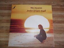 NEIL DIAMOND JONATHAN LIVINGSTON SEAGULL SOUNDTRACK LP RECORD (1973) INSERT