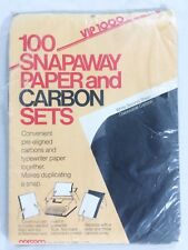 Vintage Norcom 100 Snap Away Paper and Carbon Sets 8.5 X 11 VIP 1000 USA