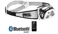 Petzl Reactik Headlamp 300 Lumens Bluetooth Black E95 Hne