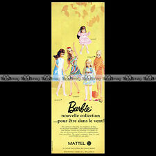 Mattel Vintage BARBIE Tutti Francie... 1968 Pub Publicité / Original Advert #C36