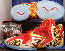 Nike Lebron XI 11 Premium 2K4 SZ 13 ( 650884-674 )