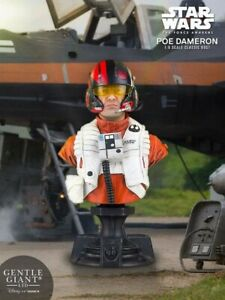 Gentle Giant Star Wars The Force Awakens Poe Dameron X-Wing Pilot Classic Bust