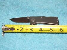 SOG Blink Satin Grey Spring Assist Folder Knife