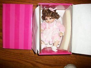 "2001 Marie Osmond JESSICA TINY TOT 6"" Porcelain Doll HTF"