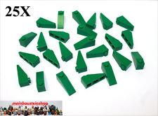 25X Lego® 4286 Dachsteine Slope Roof 1X3 33° Grün Green NEU