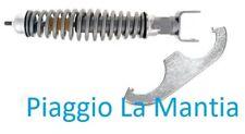6414-RG AMMORTIZZATORE POSTERIORE REGOLABILE GRIGIO VESPA PX FRENO A DISCO