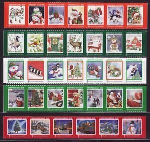 2020 U.S. National & Test Design Christmas Seal Collection, As Required