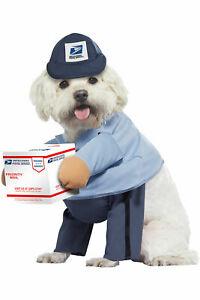 California Costume US MAIL CARRIER USPS PUP DOG Occupations Pet costume PET20170