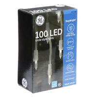 GE StayBright 100-Count White Mini LED Plug-In Christmas Icicle Lights