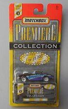 BLUE 1962 CORVETTE MATCHBOX PREMIERE COLLECTION DIECAST CAR 1:64