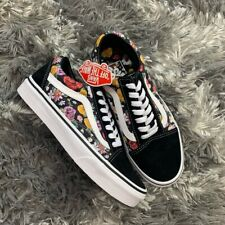 Vans CLASSIC OLD SKOOL LUX FLORAL Canvas Sneaker Shoes NEW IN BOX !