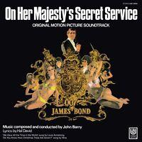 JOHN BARRY/OST-JAMES BOND:ON HER MAJESTY'S SECRET SERV. (LIMITED)  VINYL LP NEW