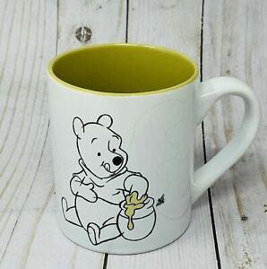 DISNEY WINNIE THE POOH Honey Bee Cup Mug Collectible BEE KIND BEE HAPPY BEE YOU