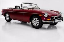 1974 MG MGB Burgundy, chrome bumpers