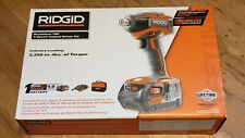Brand New RIDGID R86038SB3 GEN5X 18V Brushless 3-Speed Impact Driver 4Ah Bat Kit