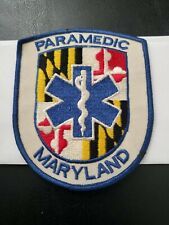 Maryland Emt Patch