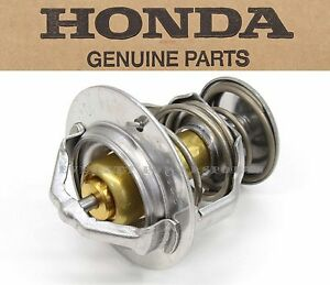 New Genuine Honda OEM Thermostat Many Bikes CB CBR NC CTX (See Notes) #T187