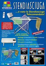 Stendibiancheria BETABERNINI STENDIASCIUGA 20 MT ALLUMINIO ANOD. TELECOMANDATO