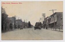 Metamora,Ohio-Main Street-1910-Toledo-Wauseon hj65