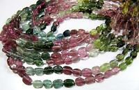 AAA Quality Multi Tourmaline Oval Plain Beads Watermelon Tourmaline Bead 13 inch