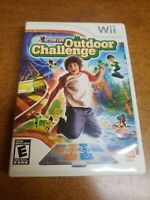 Active Life: Outdoor Challenge (Nintendo Wii, 2008)(Complete)(Tested)