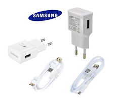 KIT 2 IN 1 CARICABATTERIE FAST SAMSUNG CAVO MICRO USB 3.0 2A S3 S4 S5 S6 NOTE3 4