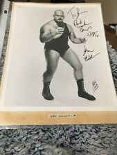 Autographed Ivan Koloff  8 x 10 Photo Signed  Wrestling No COA