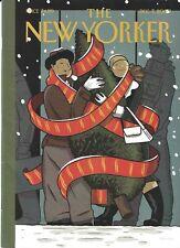 New Yorker magazine December 7 2009 Platon portraits World leaders David Sedaris