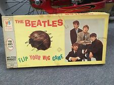 vintage  antique THE BEATLES flip your wig GAME - MILTON BRADLEY circa 1964