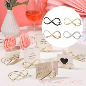 Display Stand Party Place Card Photos Clips Clamps Stand Table Numbers Holder