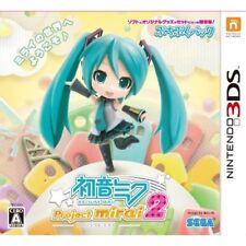 Used Nintendo 3DS Hatsune Miku Project mirai 2 Puchipuku pack(JAPAN IMPORT)