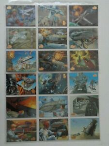 Star Wars Vehicles     Full set of  72   Trading Cards