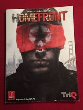 Prima Official Strategy Game Guide Book Homefront THQ