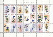 ARUBA 2015 MNH Blumen M/S #005 C