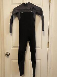oneill Childs hyperfreak technobutter 4/3 chestzip wetsuit size 10