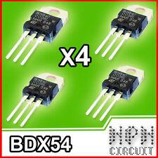 4x BDX54C Transistor PNP Darligton 100V 8A