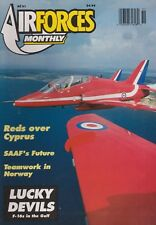 Air Forces Monthly (Jun 1992) (Red Arrows, SAAF, IAF Operation Opera F-16)